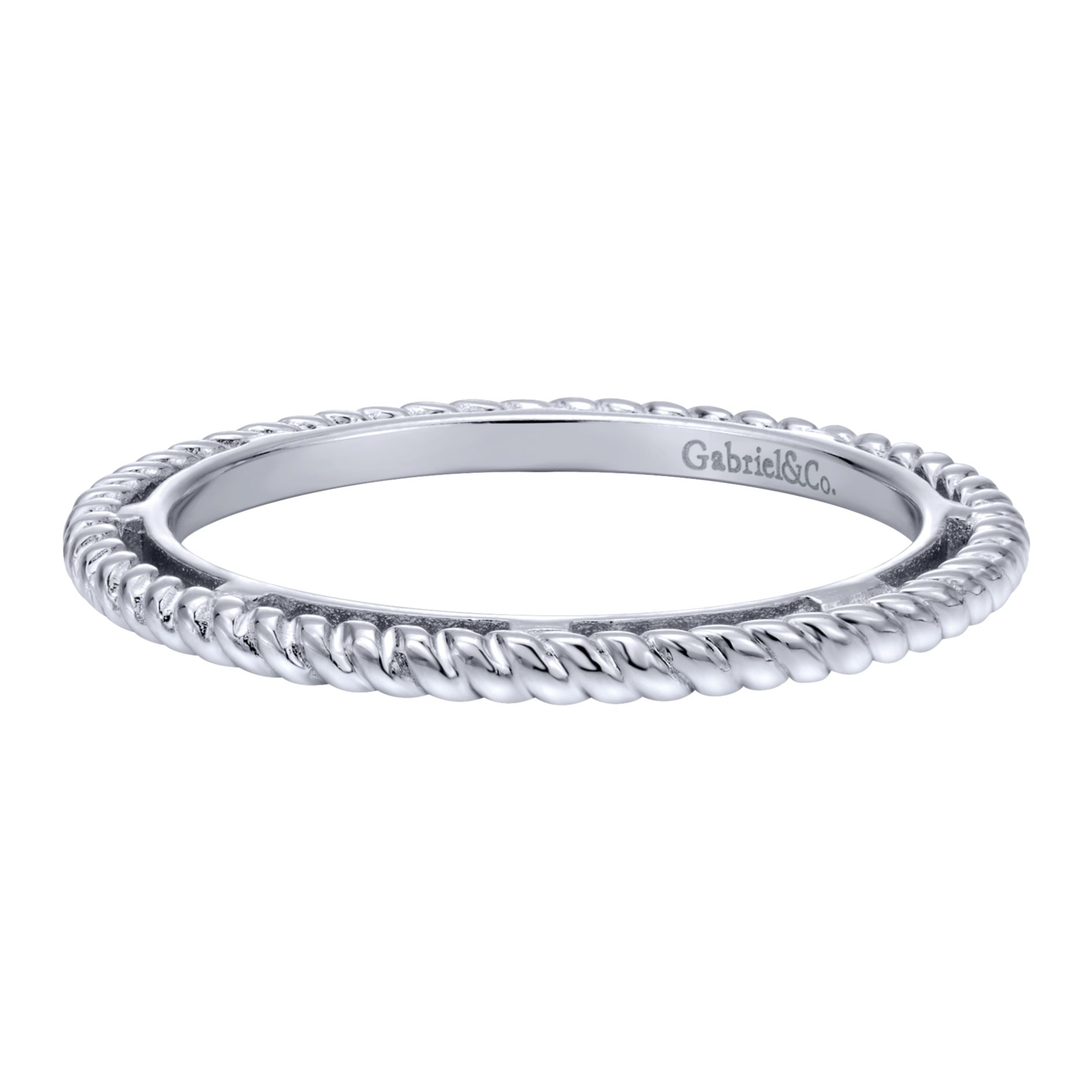 Rings - SILVER STACKABLE LADIES RING