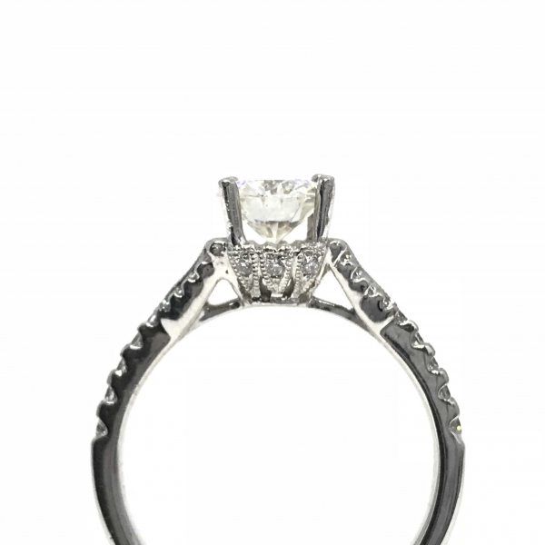 Engagement Rings - Round Semi-Mount  - image 2