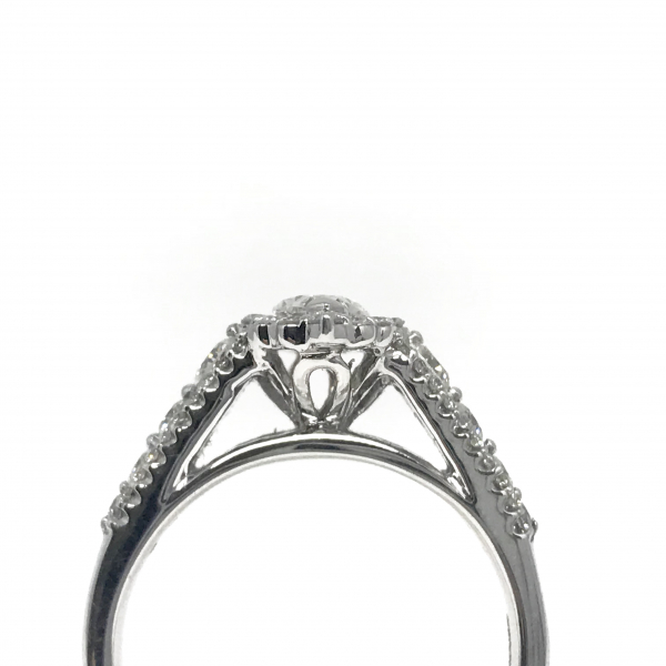 Engagement Rings - Marquise Diamond Ring  - image #2