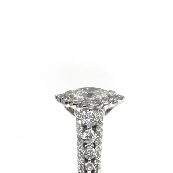Engagement Rings - Marquise Diamond Ring  - image #3