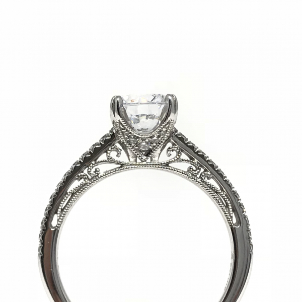 Engagement Rings - Round Engagement Ring - image #2