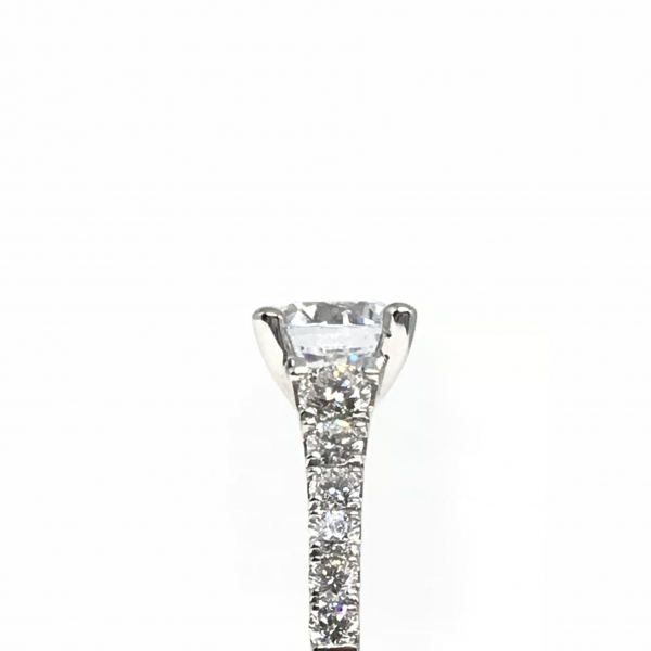 Engagement Rings - Round Semi-Mount  - image 3