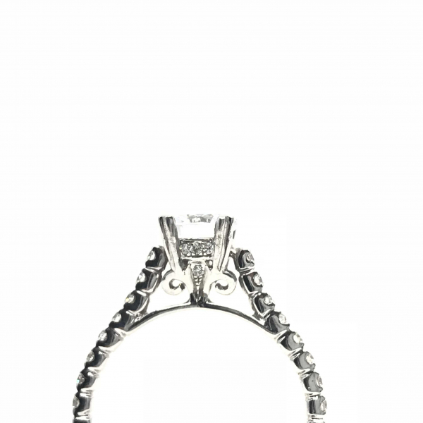 Engagement Rings - Diamond Semi-Mount Engagement Ring  - image #3