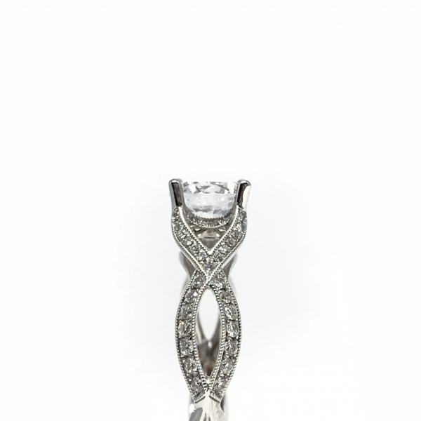 Engagement Rings - Solitare Semi-Mount  - image #3