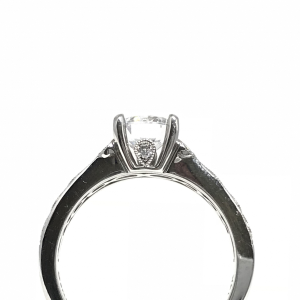 Engagement Rings - Solitare Semi-Mount  - image #2