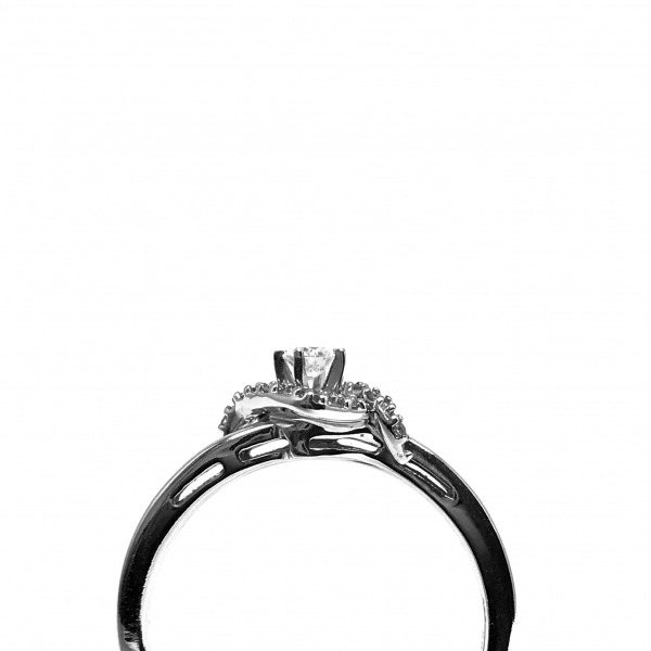 Engagement Rings - Diamond Wedding Set - image #2