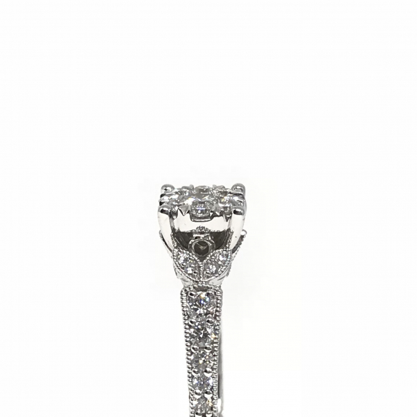 Engagement Rings - Lovebright Diamond Engagement Ring  - image #3