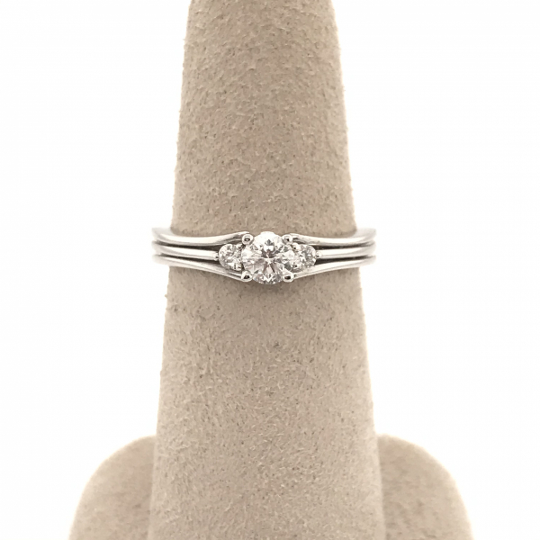 Engagement Rings - Round Vintage Semi-Mount Engagement Ring