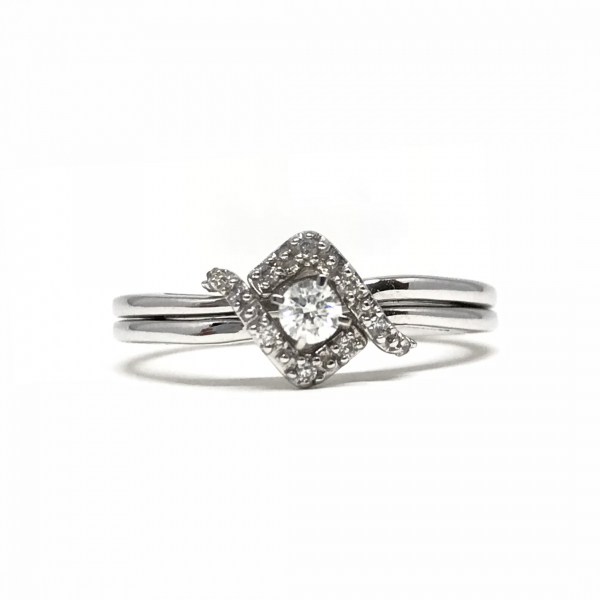 Engagement Rings - Diamond Wedding Set